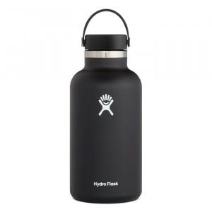 Hydro Flask Insulated Drinkfles Wide Mouth 2.0 w/ Flex Cap (1182 ml) Black