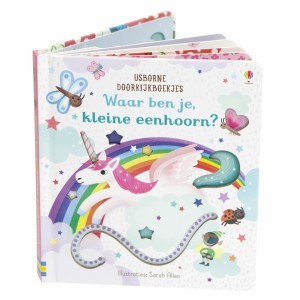 Usborne Doorkijkboekje Waar ben je, kleine eenhoorn?