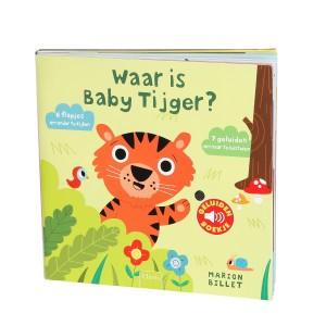 Marion Billet Geluidenboekje Waar is baby tijger?