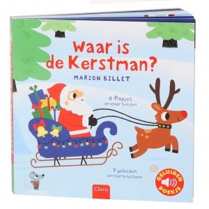 Clavis Geluidenboekje Waar is de Kerstman?