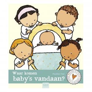 Clavis 'Kriebels in je buik' Informatief Leesboek Waar komen baby's vandaan?
