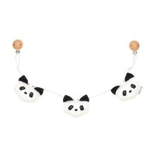 Liewood Wandelwagenspeelgoed Hanger Panda Creme de la Creme