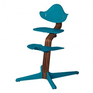 Nomi Highchair Ocean / Oiled Walnut