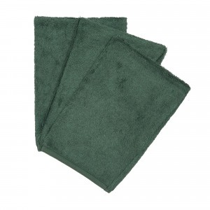 Timboo Set van 3 Washandjes Aspen Green