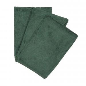 Timboo Set van 3 Washandjes Aspen Green