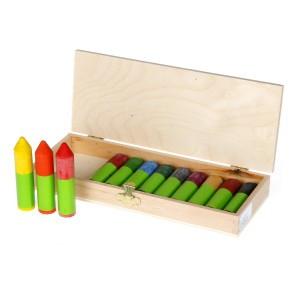 Ökonorm Mini Waskrijtjes Nawaro in een houten doosje