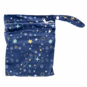 Cheeky Wipes Dubbele Waszak Minky Small Starry Night