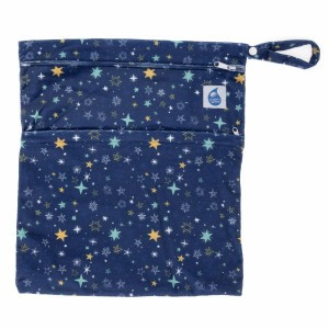 Cheeky Wipes Dubbele Waszak Minky Large Starry Night
