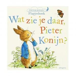 Ploegsma Flapjesboek Wat zie je daar, Pieter Konijn?