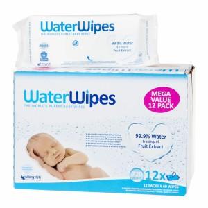 WaterWipes Voordeelpakket 12 Pakjes (720 doekjes)