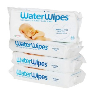 WaterWipes Voordeelpakket 4 Pakjes (240 doekjes)