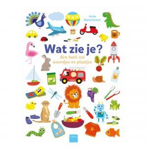 Clavis Kartonboek Wat zie je?