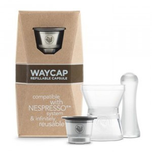 Waycap Hervulbare Nespresso Capsule - Basic Kit (1 stuk)