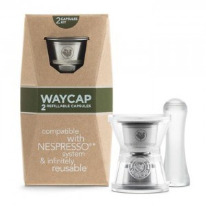 Waycap Hervulbare Nespresso Capsule - Complete Kit (2 stuks)