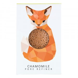 The Konjac Sponge co. Reinigingsspons Vos - Chamomile