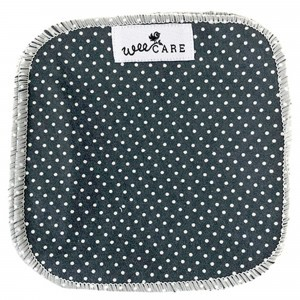 WeeCare Wasbare Doekjes Dots Donkerblauw (10 stuks)