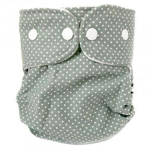 WeeCare Overbroekje Medium Dots Groen (6-10 kg)