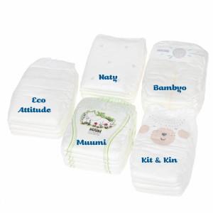Testpakket Klein Ecologische wegwerpluiers maat 1 (2-5 kg)