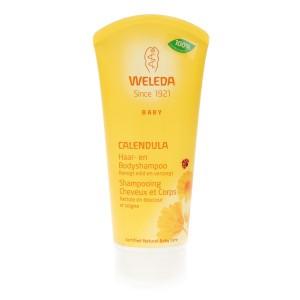 Weleda Calendula Haar-en Bodyshampoo 200 ml