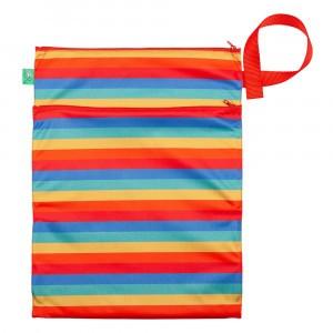 Totsbots Wet and Dry Bag Rainbow Stripe