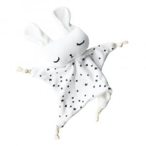 Wee Gallery Knuffeldoekje Bunny Stars
