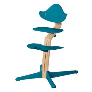 Nomi Highchair Ocean / White Oiled