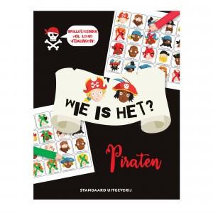 Standaard Uitgeverij Spelletjesboek Wie is het? Piraten