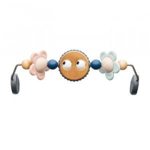 BabyBjörn Houten Speelgoed voor Wipstoel - Ondeugende oogjes Pastel