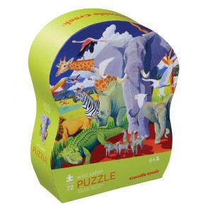Crocodile Creek puzzel Wild Safari (72 stukken)