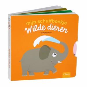 Clavis Mijn schuifboekje Wilde dieren