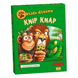 Haba Kaartspel Wilde Dieren Knip Knap