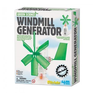 4M Kidzlabs Bouwpakket Windmolen