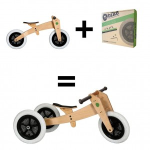 Wishbone Bike 3-in-1 Hout