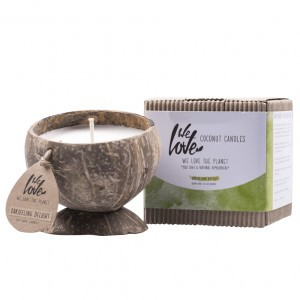 We Love The Planet Coconut Kaars - Darjeeling Delight