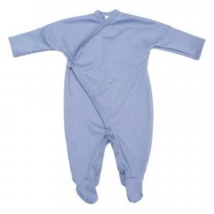 Wooly Organic Kimono Pyjama Blauw