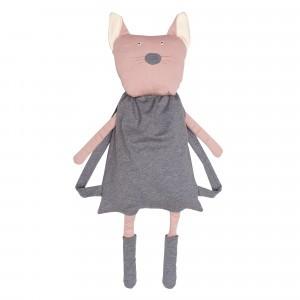 Wooly Organic Knuffel/Rugzak Kat