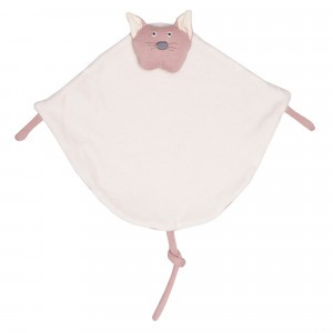 Wooly Organic Knuffeldoekje Kat