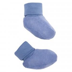 Wooly Organic Slofjes Blauw