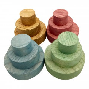 Papoose Toys Earth Schijven Set (12 stuks)