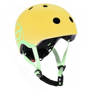 Scoot and Ride Helm XS - Lemon