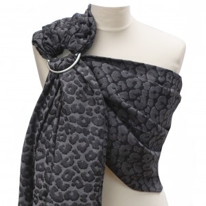 Yaro Ring Sling Pussycat Black Grey