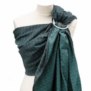 Yaro Ring Sling Turtle Emerald-Black