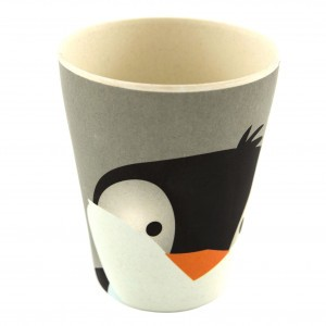 Yuunaa Bamboe Beker Pinguin