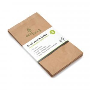 Ecoliving Afvalzak voor Voedsel (25 stuks/10 liter)