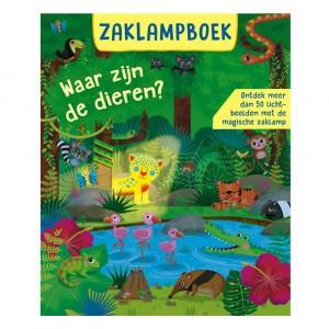 Standaard Uitgeverij Zaklampboek Waar zijn de dieren?