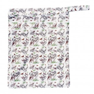 Little Lamb Dubbele Wetbag Large Show Your Stripes