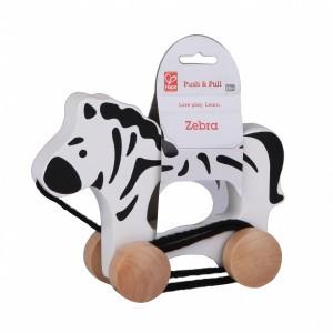 Hape Trekdiertje Zebra