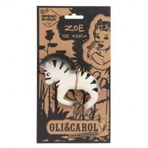 Oli&Carol Armband Zebra - Bad en Bijtspeeltje