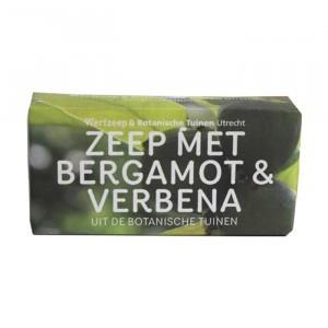 Werfzeep Botanische Tuinen zeep - Bergamot & Verbena