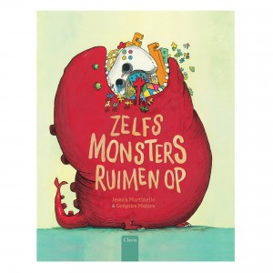 Clavis Leesboekje Zelfs monsters ruimen op